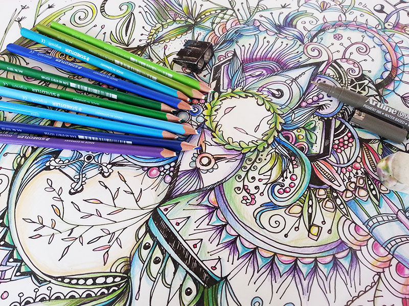 coloredpencils by ©/CAM