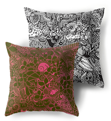 Pillows by ©/CAM, danish designer Camilla Laub http://camcreative.dk