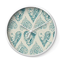 Wall clocks by ©/CAM, danish designer Camilla Laub http://camcreative.dk